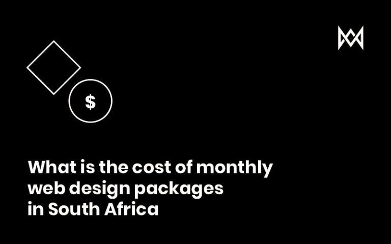 Monthly Web Design Packages South Africa